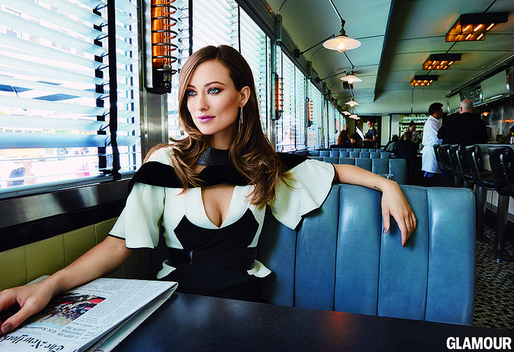 """Source: Glamour / Patrick Demarchelier  On being photographed while breastfeeding: """"Being shot with Otis is so perfect because any portrait of me right now isn't complete without my identity as a mother being a part of that. Breastfeeding is the most natural thing. I don't know, now it feels like Otis should always be on my breast. It felt like we were capturing that multifaceted woman we've been discussing — that we know we can be. You can be someone who is at once maternal and professional…"""