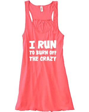 I Run To Burn Off The Shirt - Running Shirt - Running Tank Top - Funny