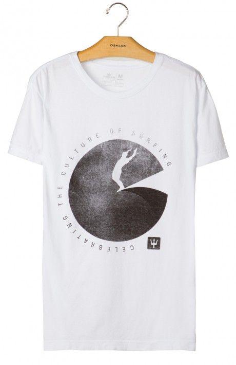 Osklen - T-SHIRT STONE VINTAGE CELEBRATING - t-shirts - men