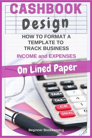 Simple Cash Book Format Design for Quick Money Tracking - basic accounting spreadsheet for small business