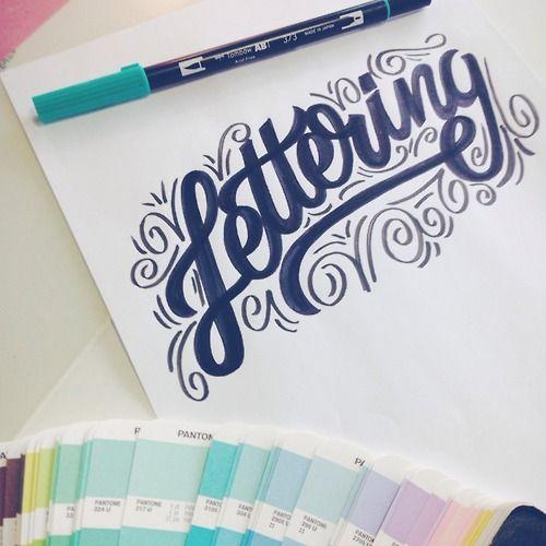 Cool lettering! | letteringdaily.tumblr.com