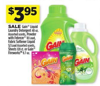 Gain Fireworks Just $1.95 at Dollar General!