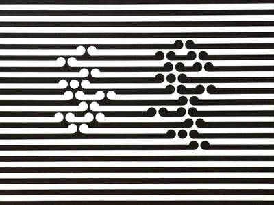 Iconic New Zealand art by Gordon Walters