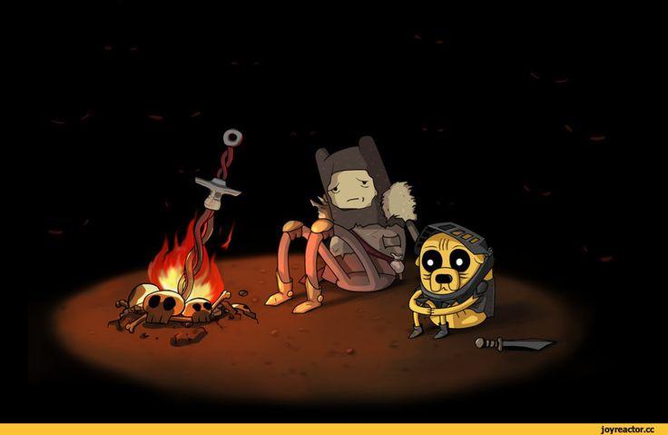 adventure time,время приключений,фэндомы,Dark Souls,at crossover,at кроссовер,Finn,Финн - парнишка, Финн, Финн парнишка,Jake,Джейк - Пес, джейк,Marceline,Марселин - Королева Вампиров, Марселин,Earl of Lemongrab,лемонхват,DS crossover