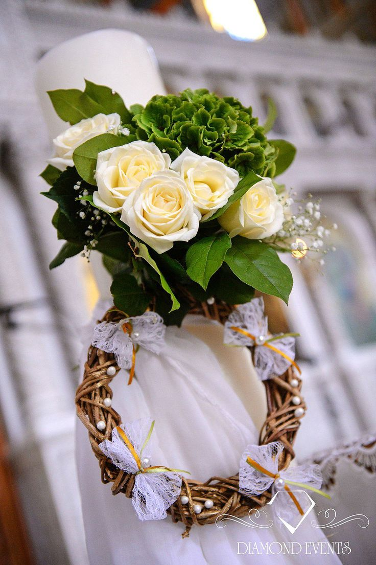 Amazing Orthodox Wedding Candles Decoration!