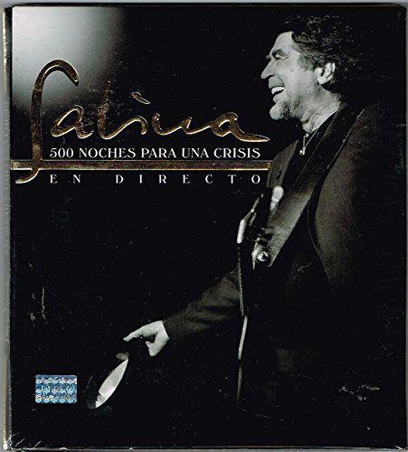 """SABINA """"500 NOCHES PARA UNA CRISIS EN DIRECTO"""" 2 CD's + 1 DVD [BONUS VIDEO TRACKS] IMPORT.:   SABINA """"500 NOCHES PARA UNA CRISIS EN DIRECTO"""" 2 CD's + 1 DVD [BONUS VIDEO TRACKS] IMPORT. JOAQUIN SABINA"""