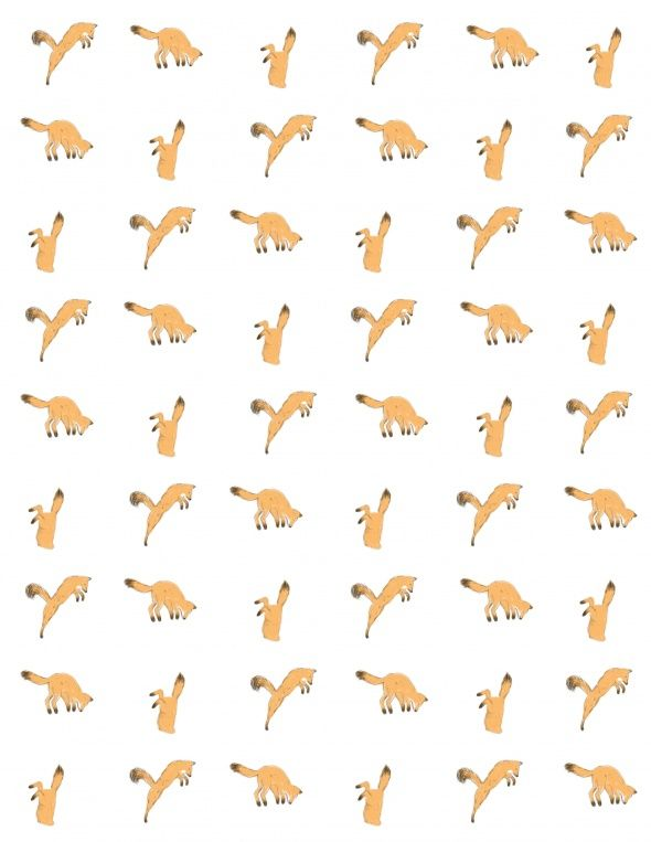 printable wrapping paper. fox | Printables | Pinterest