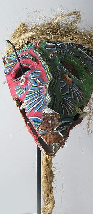 Mexican Tastoanes mask  Santa Cruz de las Huerta, Jalisco, Mexico