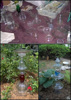 Great tutorial on how to get started Making your own garden glass. Wish i had read this before i started .live and learn