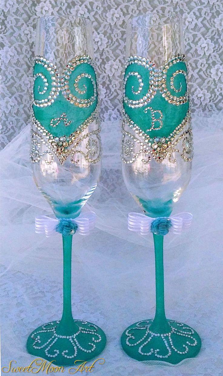 M s de 1000 ideas sobre copas decoradas para boda en - Adornos navidenos para comercios ...