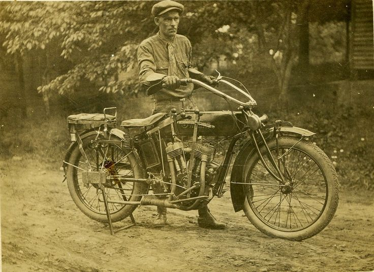 Indian Motorcycle Grandpa Sam Dillard 19?? Indian, Newery S.C.