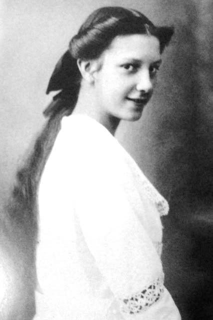 Archiduchesse Mathilde de Habsbourg (1906-1991) avant-dernière fille de l'archiduchesse Marie-Valérie (1868-1924) et de l'archiduc François-Salvator. Mariée avec Ernest Hefel (1888-1974)