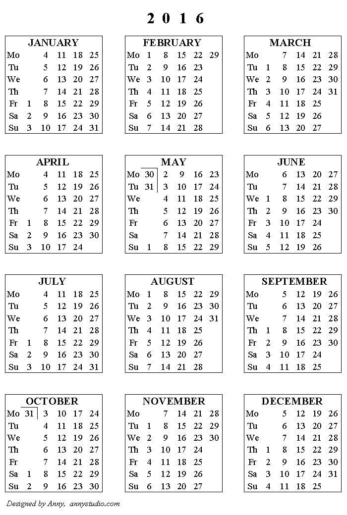 ... Planner | Pinterest | Calendars 2016, Printable Calendars and Calendar