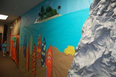 Clutter-Free Classroom: beach/Australia ideas for next years theme