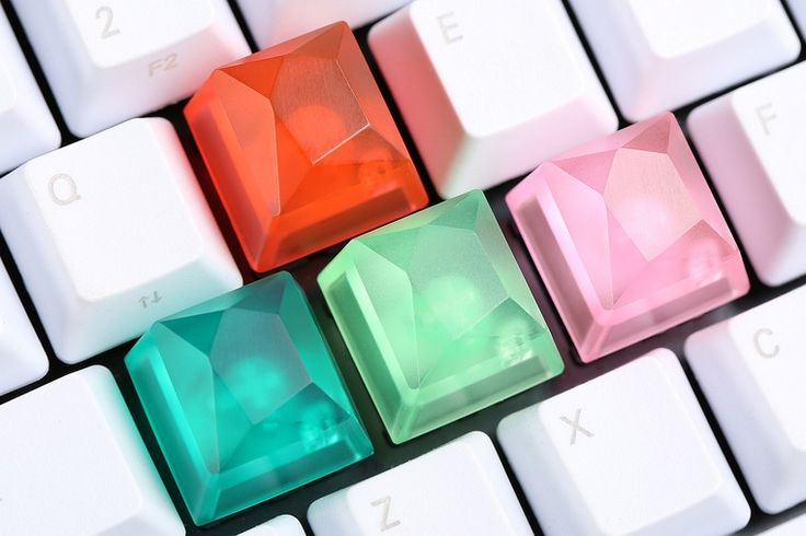 Gem Artisan Keycaps Drop - Massdrop