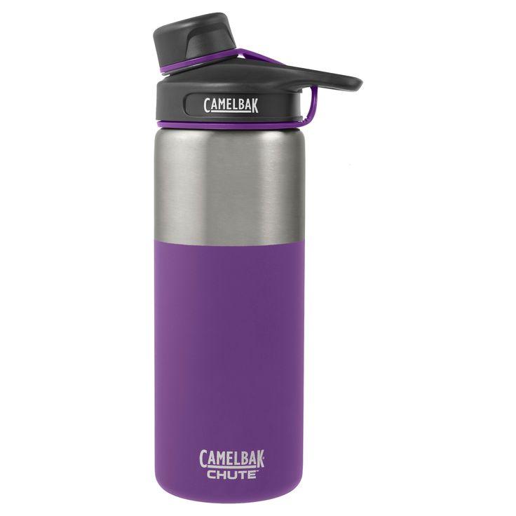 CamelBak Chute 20oz Stainless Steel Vacuum Insulated Water Bottle - Purple