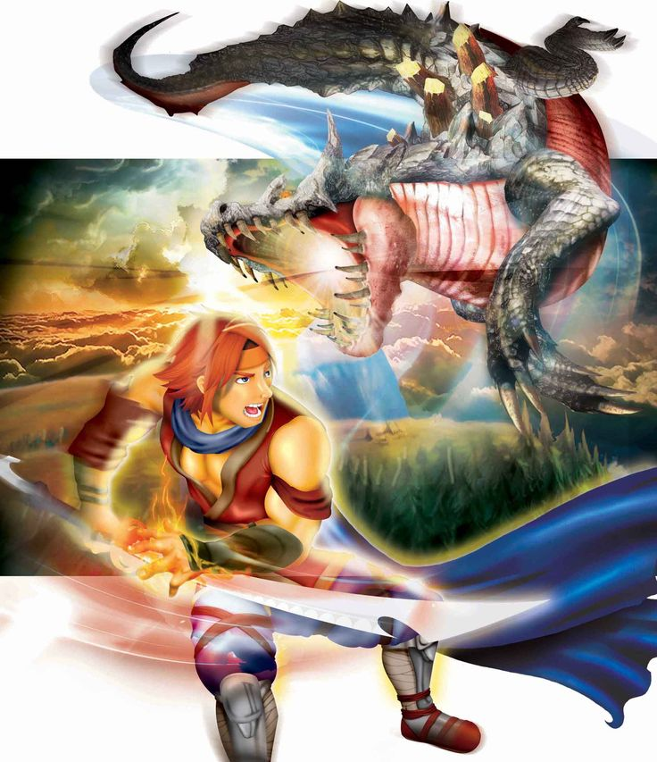 Warrior vs Dragon
