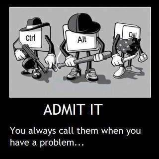 (Technically, our engineers call them... Our designers call Cmd-Opt-Esc) #Nerd #Geek #Dork #ROFL #EHumor #Mac #PC