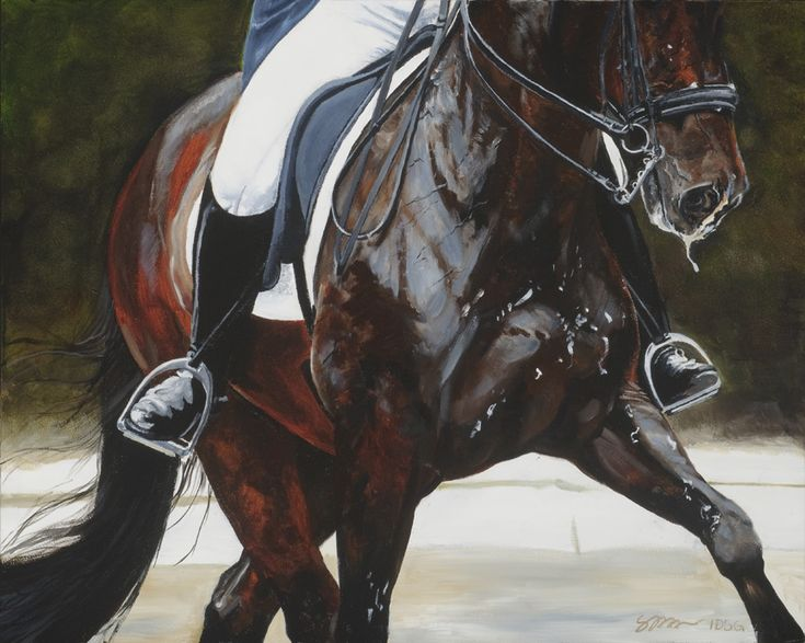 """""""Dance With Me"""" by artist Suzanne Nielsen  www.artequine.com"""
