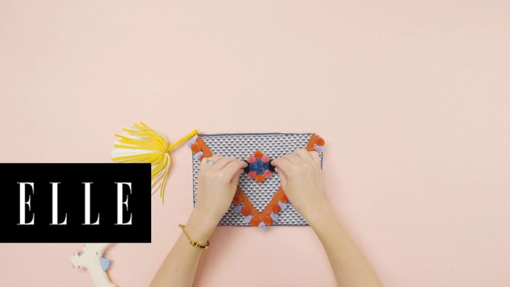 3 Ways to Add Pom Poms to Fashion Accessories | She's Crafty: DIY Expert Janet Crowther shows us three ways add pom poms to your fashion accessories. Shoes: Steve Madden. Hat: KIN/K