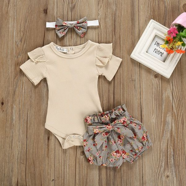 Daily Deals For Moms Patpat Baby Girl Outfits Newborn Baby Outfits Newborn Baby Girl Summer