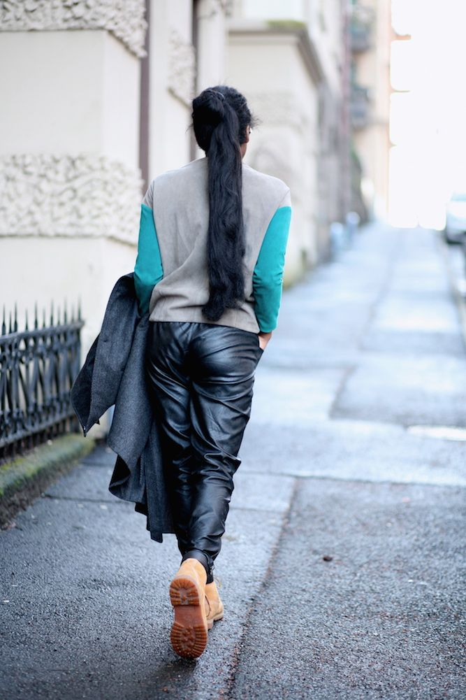 Anothamista: Anothamista Style Feature: Leather Top by #Uneins