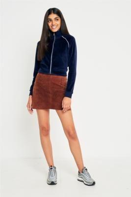 Urban Renewal Vintage Originals Suede Skirt | Urban Outfitters