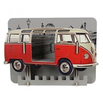 Werkhaus Shop - Garderobe VW T1 - Rot
