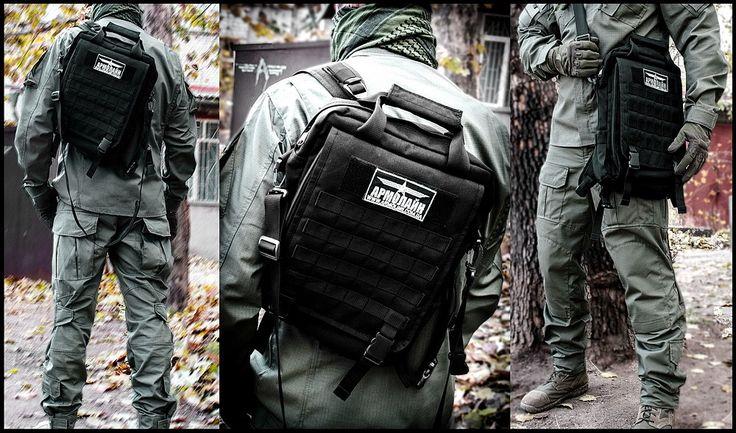 Сумка - ранец тактическая Black, купить сумку - ранец тактическую, Украина, Киев