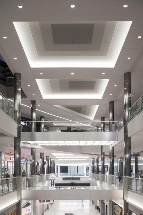 Mall of America – East Boulevard Renovation, Bloomington, Minnesota. Lighting Design by Cooley Monato Studio