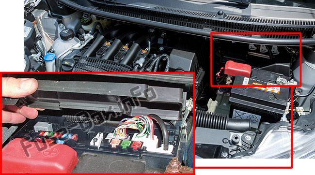 Fuse Box For Fiat 500