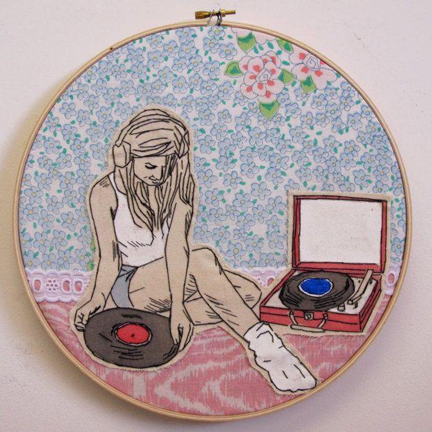 {Vinyl Love} Lucky Jackson - put another record on...