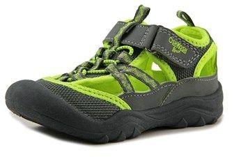 Osh Kosh Hax-b Toddler Round Toe Canvas Gray Sport Sandal.