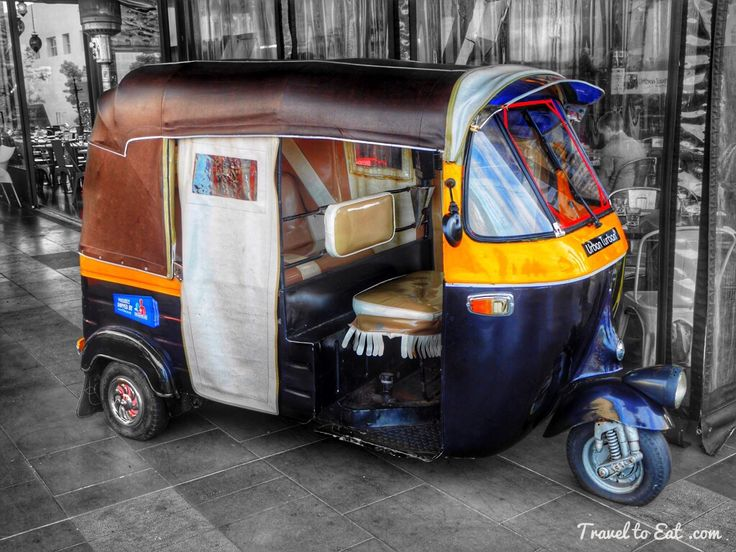 Auto Rickshaw. Urban Turban. Auckland, New Zealand