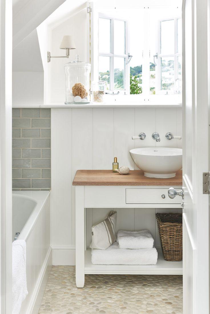 English cottage bathrooms - English Beach House Sims Hilditch Coastal Bathroomscottage