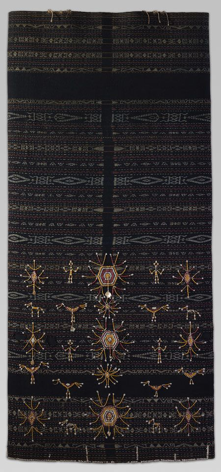 Woman's Ceremonial Skirt (Lawo Butu or Lawo Ngaza) - Ngada people, Flores Island, Indonesia | Heilbrunn Timeline of Art History | The Metropolitan Museum of Art