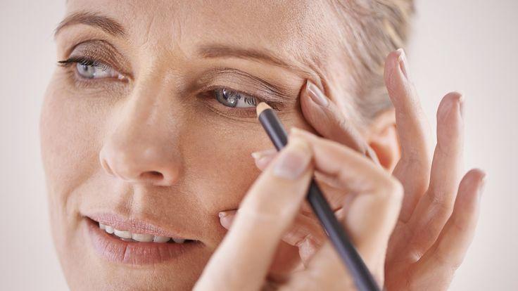 Mature woman makeup tricks