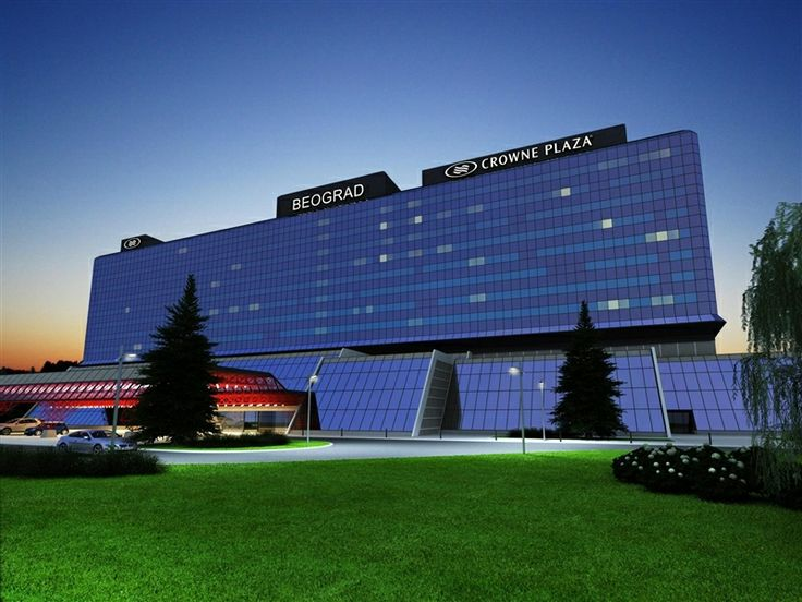 Iconic Belgrade InterContinental (1979) reopens after renovation as Crowne Plaza