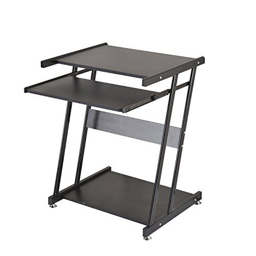 CLEARANCE Homcom Compact Computer Desk Work Office Study Workstation Table PC Laptop Table Station Kids Black