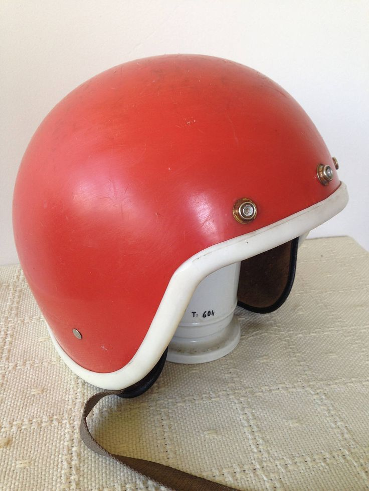Retro Russian motor-bike/scooter helmet. Collectable bike/motorcycles/safety equipment/nostalgia.USSR by trevoranna on Etsy