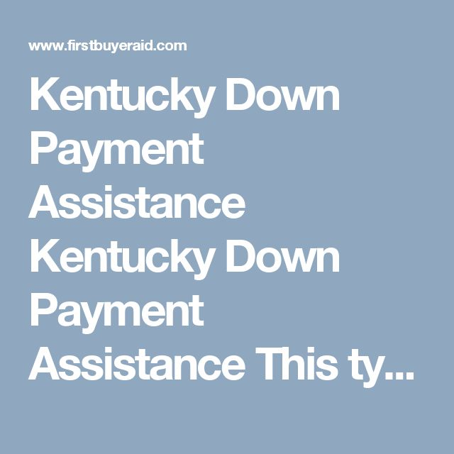 Kentucky Down Payment Assistance  Kentucky Down Payment Assistance   This type of loan is administered by KHC in the state of Kentucky. They typically have $4500 to $6000 down payment assistance year around, that is in the form of a second mortgage that you pay back over 10 years.      Sometimes they will come to market with other down payment assistance and lower market rates to benefit lower income households with not a lot of money for down payment.  KHC offers FHA, VA, USDA, and…