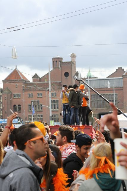 #King'sDay, #Amsterdam. The biggest party of the year!