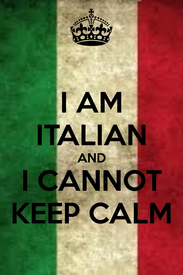 Haha, I love this so much because it's 10000% TRUE! Love being Italian and would never want it ANY other way!