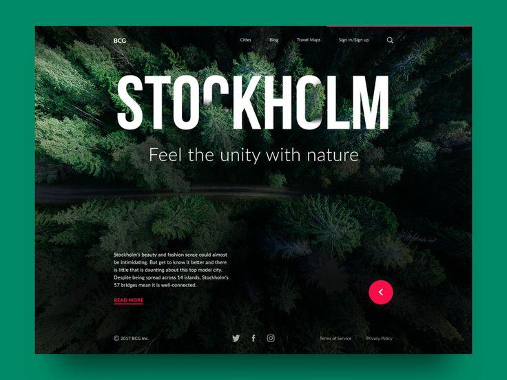 Big City Guide: Stockholm. by tubik