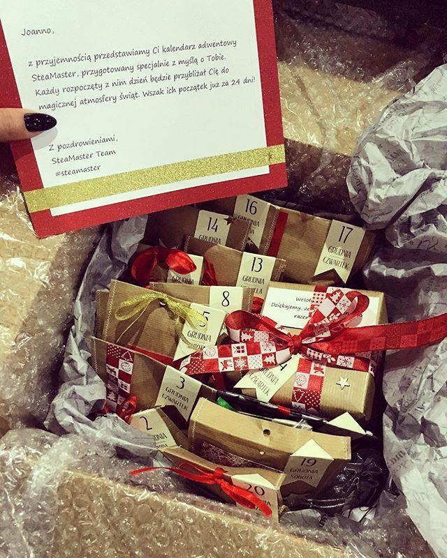 Prezent świąteczny od @steamaster ☃ kalendarz adwentowy❣Dziękuje bardzo! ❤️