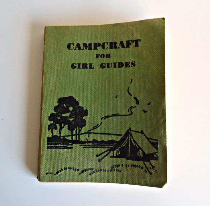 Campcraft for Girl Guides The Girl Guides Association 1961 by TreasureCoveAlly on Etsy