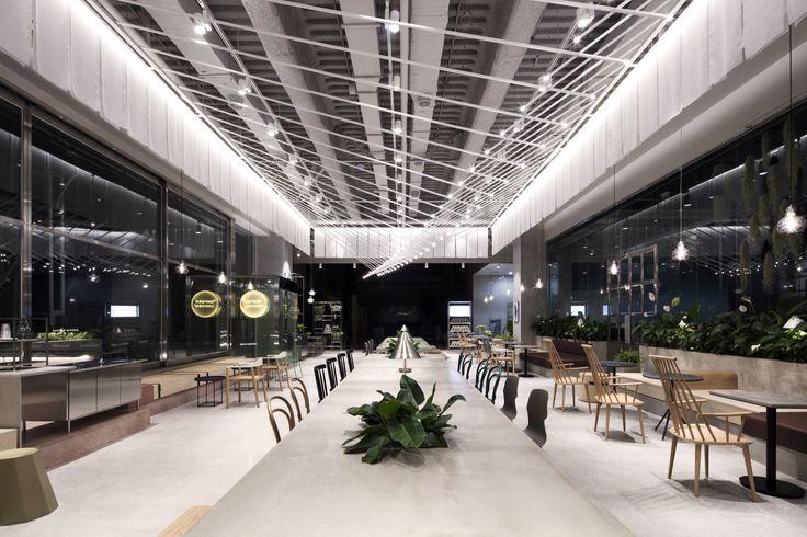 SAPOON SAPOON Café / Betwin Space Design
