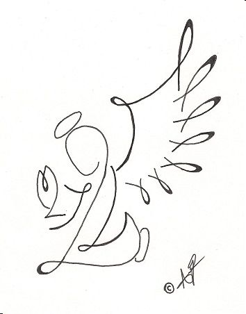 Tribal Angel Design by *HellsOriginalAngel on deviantART