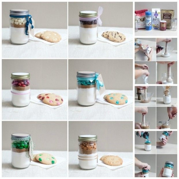 22 Perfect DIY Gifts For Your Moms - Cookie Mix In a Jar