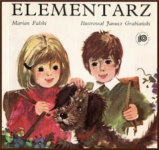 Polish Alphabet Book called ELEMENTARZ a great source for children who would like to read and write Polish.